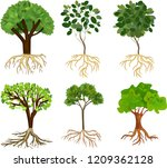 set of different cartoon... | Shutterstock .eps vector #1209362128