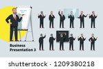 professional looking business... | Shutterstock .eps vector #1209380218
