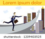 vector concept illustration for ... | Shutterstock .eps vector #1209403525
