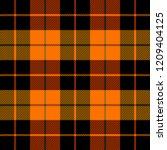 halloween tartan plaid.... | Shutterstock .eps vector #1209404125