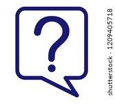 help  ui   ux icon vector... | Shutterstock .eps vector #1209405718