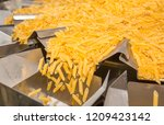 pasta factory conveyor for... | Shutterstock . vector #1209423142