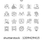 people well crafted pixel... | Shutterstock .eps vector #1209429415