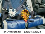 Small photo of handle to drive the ejection seat