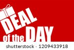deal of the day. offer of...   Shutterstock .eps vector #1209433918
