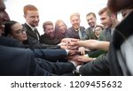 large group of business people... | Shutterstock . vector #1209455632