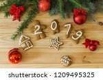 new year's eve. new year's... | Shutterstock . vector #1209495325