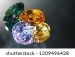 natural sapphire gemstone | Shutterstock . vector #1209496438