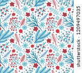 vector seamless pattern with...   Shutterstock .eps vector #1209497035