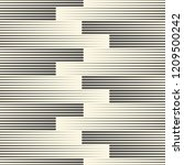 seamless line wallpaper.... | Shutterstock .eps vector #1209500242