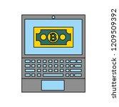 fin tech business   Shutterstock .eps vector #1209509392