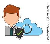 fin tech business   Shutterstock .eps vector #1209510988