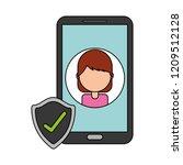 fin tech business   Shutterstock .eps vector #1209512128