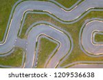 track for auto racing top view. ... | Shutterstock . vector #1209536638