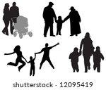 family vector | Shutterstock .eps vector #12095419