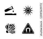danger  attention  hazard.... | Shutterstock .eps vector #1209565972