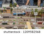 miniature  which shows... | Shutterstock . vector #1209582568