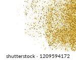 gold glitter texture isolated... | Shutterstock .eps vector #1209594172