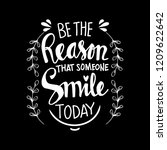 be the reason that someone... | Shutterstock .eps vector #1209622642