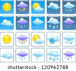 forecast weather squared icon...