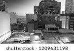 night aerial skyline of new... | Shutterstock . vector #1209631198