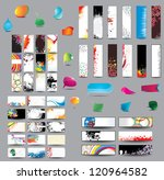 mix collection vertical and... | Shutterstock . vector #120964582