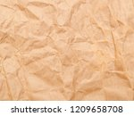 brown wrinkle recycle paper... | Shutterstock . vector #1209658708