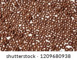 Background Of Chocolate Cereal...