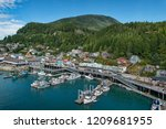 View Of Ketchikan  Alaska ...