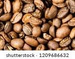 freshly roasted coffee  medium... | Shutterstock . vector #1209686632
