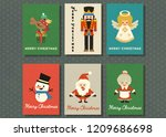 merry christmas and happy new... | Shutterstock .eps vector #1209686698