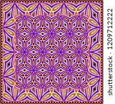 geometric pattern with hand... | Shutterstock .eps vector #1209712222