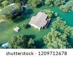 sad situation along colorado... | Shutterstock . vector #1209712678