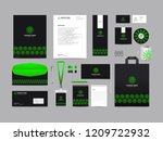 corporate identity set template ... | Shutterstock .eps vector #1209722932
