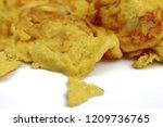 close up macro of thai omelet ... | Shutterstock . vector #1209736765