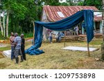 saint mary  jamaica   january... | Shutterstock . vector #1209753898