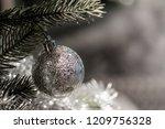 christmas ornament ball...   Shutterstock . vector #1209756328