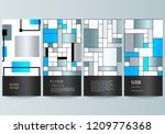 the minimalistic vector... | Shutterstock .eps vector #1209776368