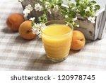 glass of orange juice | Shutterstock . vector #120978745