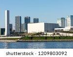 scenery of tokyo bay area | Shutterstock . vector #1209803092