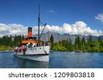 Vintage Steamship TSS Earnslaw, Queenstown New Zealand South Island