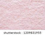pink wool fibrous fabric... | Shutterstock . vector #1209831955