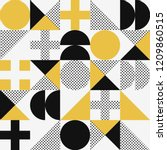 vector seamless abstract... | Shutterstock .eps vector #1209860515