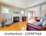 beautiful soft natural living... | Shutterstock . vector #120987466