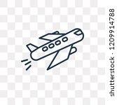 departures flights vector... | Shutterstock .eps vector #1209914788