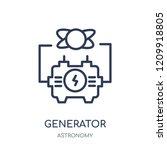generator icon. generator... | Shutterstock .eps vector #1209918805