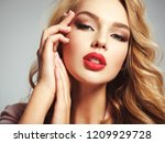 photo of a beautiful young... | Shutterstock . vector #1209929728