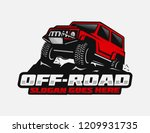 off road car logo template | Shutterstock .eps vector #1209931735