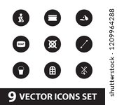 clean icon. collection of 9... | Shutterstock .eps vector #1209964288