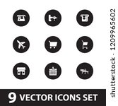 commercial icon. collection of... | Shutterstock .eps vector #1209965602